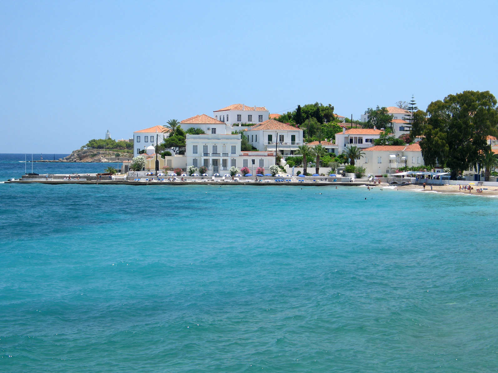 Spetses Greece: Compare to other Greek Islands ... Daily Kos