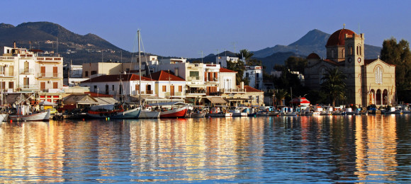 Pop up to nearby Aegina