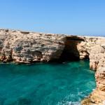 Sea caves at Pano Koufonisi