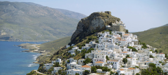 Exploring Skyros' Chora
