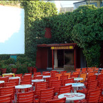 Agistri's open-air cinema