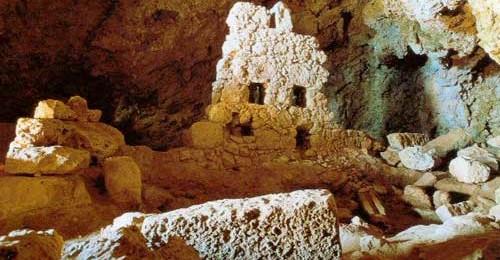 Caves of Ellinokamara and Stilokamara (Selai)