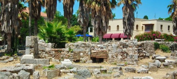 Temple of Hercules - Ancient Market - Kos