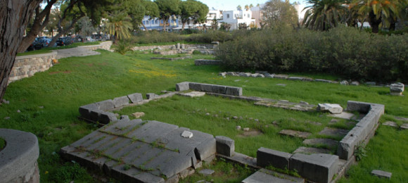 Temple of Dionysos - Ancient Market - Kos