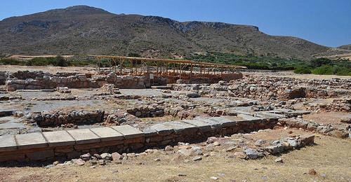 Minoan settlement Palekastro - Lasithi - Greece