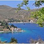 The coastal villages of Pedi and Nimborio (or Emborios)