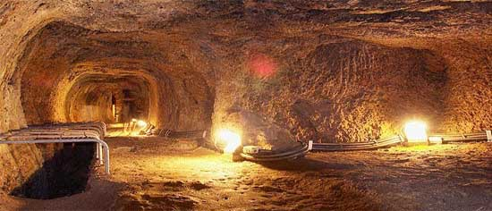 Efpalinio Orygma/Tunel