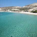 Prasa (also known as Agios Georgios or White Beach)