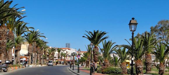 Coastal road - Rethymno - Crete