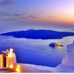 Visit the neighboring Santorini
