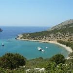 Swimming in Symi's satellite islets