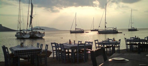 Agistri's taverns and cafes