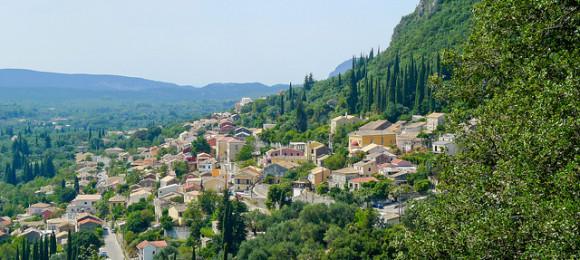 Villages Lefikimi, Kasiopi, Agios Stefanos, Korakiana