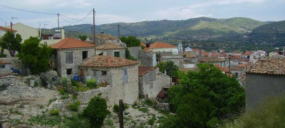 Village hopping in Samos