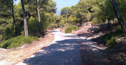 Walk from Skala to Chalkiada beach
